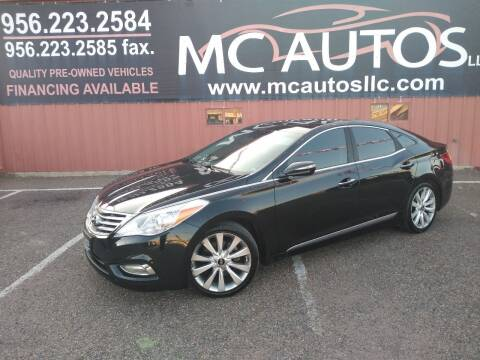 2013 Hyundai Azera for sale at MC Autos LLC in Pharr TX