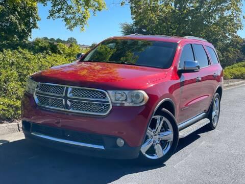 2011 Dodge Durango for sale at William D Auto Sales in Norcross GA