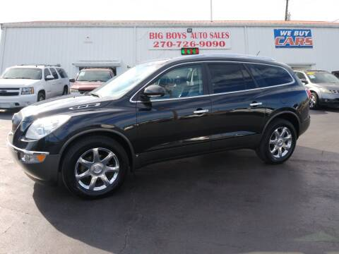 2009 Buick Enclave for sale at Big Boys Auto Sales in Russellville KY