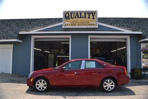 2006 Cadillac CTS for sale at Quality Pre-Owned Automotive in Cuba MO