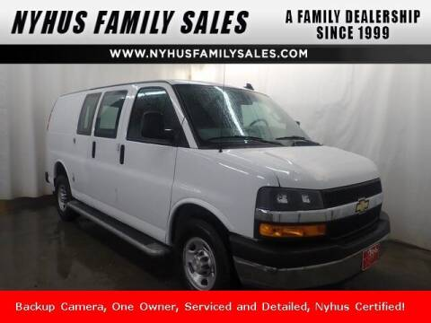 2019 Chevrolet Express Cargo for sale at Nyhus Family Sales in Perham MN