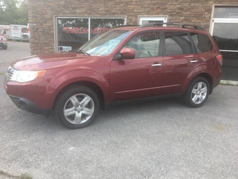 2010 Subaru Forester for sale at K B Motors in Clearfield PA