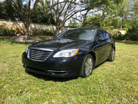 2013 Chrysler 200 for sale at GERMANY TECH in Boca Raton FL