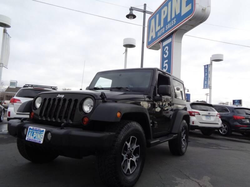2012 Jeep Wrangler for sale at Alpine Auto Sales in Salt Lake City UT