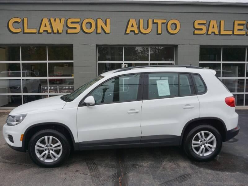 2016 Volkswagen Tiguan for sale at Clawson Auto Sales in Clawson MI