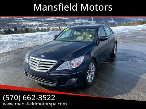 2009 Hyundai Genesis for sale at Mansfield Motors in Mansfield PA