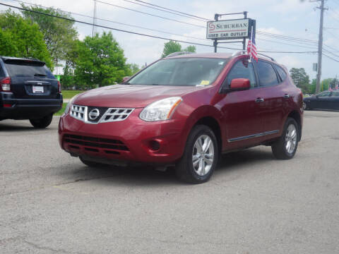 2012 Nissan Rogue for sale at Suburban Chevrolet of Ann Arbor in Ann Arbor MI