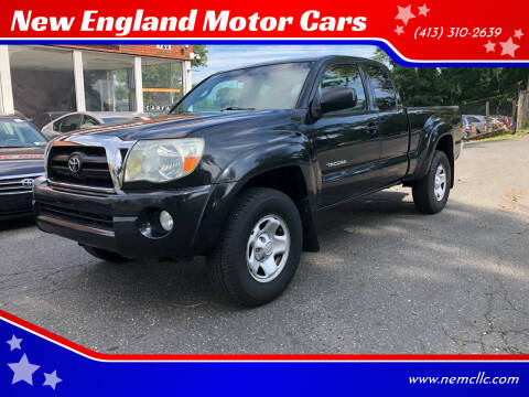 2006 Toyota Tacoma for sale at New England Motor Cars in Springfield MA