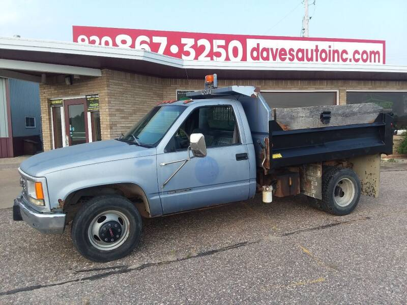 1998 GMC Sierra 3500 for sale at Dave's Auto Sales & Service in Weyauwega WI
