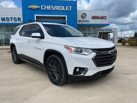 2020 Chevrolet Traverse for sale at BULL MOTOR COMPANY in Wynne AR