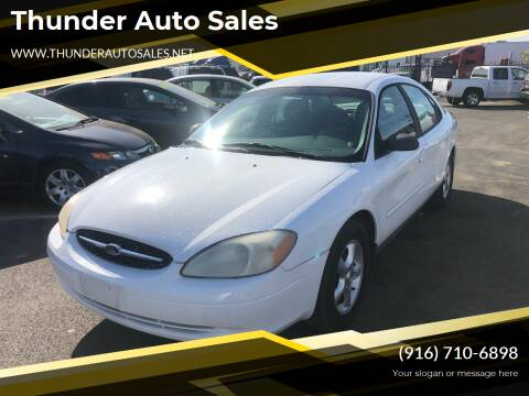 2001 Ford Taurus for sale at Thunder Auto Sales in Sacramento CA