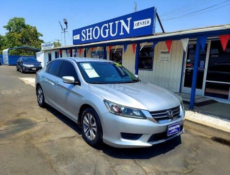 2015 Honda Accord for sale at Shogun Auto Center in Hanford CA