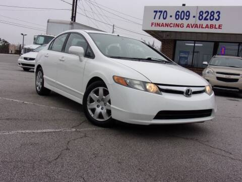 2008 Honda Civic for sale at Trust Autos, LLC in Decatur GA