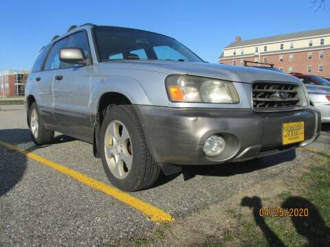 2003 Subaru Forester for sale at NORTHEAST IMPORTS LLC in South Portland ME
