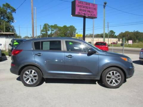 2016 Kia Sportage for sale at Checkered Flag Auto Sales EAST in Lakeland FL