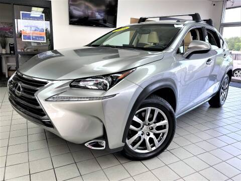 2016 Lexus NX 200t for sale at SAINT CHARLES MOTORCARS in Saint Charles IL