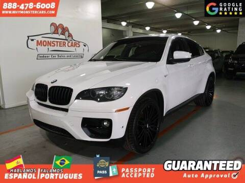 2013 BMW X6 for sale at Monster Cars in Pompano Beach FL