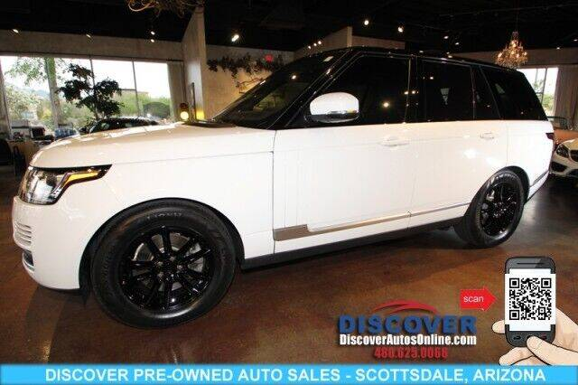 2017 Land Rover Range Rover for sale at Discover Pre-Owned Auto Sales in Scottsdale AZ