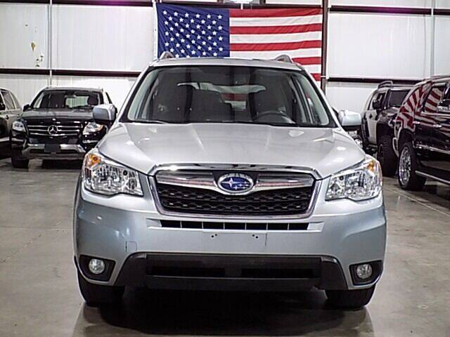 2016 Subaru Forester for sale at Texas Motor Sport in Houston TX