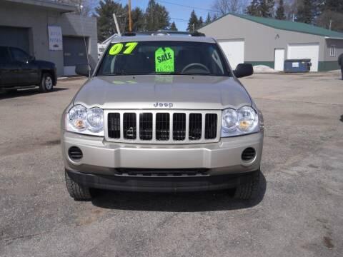 2007 Jeep Grand Cherokee for sale at Shaw Motor Sales in Kalkaska MI