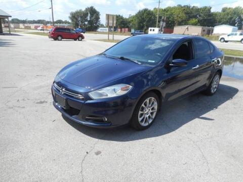 2013 Dodge Dart for sale at RJ Motors in Plano IL