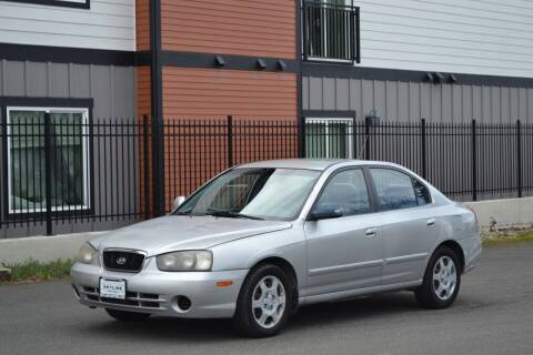 2002 Hyundai Elantra for sale at Skyline Motors Auto Sales in Tacoma WA