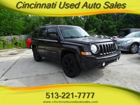 2014 Jeep Patriot for sale at Cincinnati Used Auto Sales in Cincinnati OH