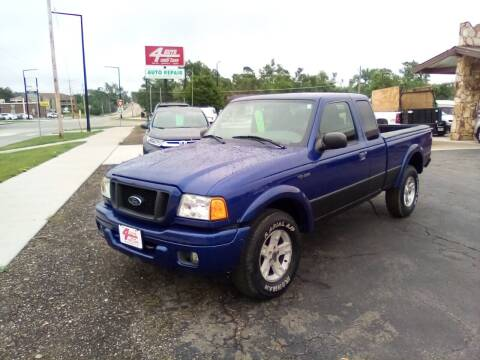 2004 Ford Ranger for sale at Four Guys Auto in Cedar Rapids IA
