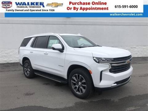 2021 Chevrolet Tahoe for sale at WALKER CHEVROLET in Franklin TN