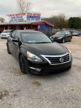 2014 Nissan Altima for sale at Twin Motors in Austin TX