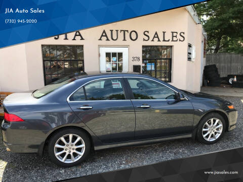 2007 Acura TSX for sale at JIA Auto Sales in Port Monmouth NJ