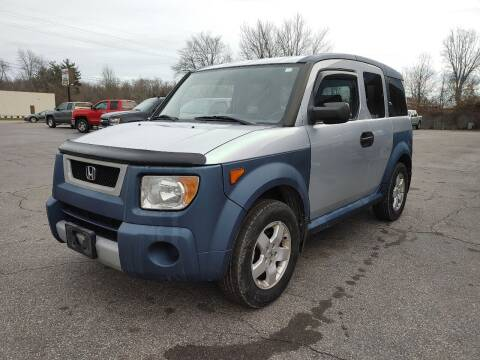 2005 Honda Element for sale at Cruisin' Auto Sales in Madison IN