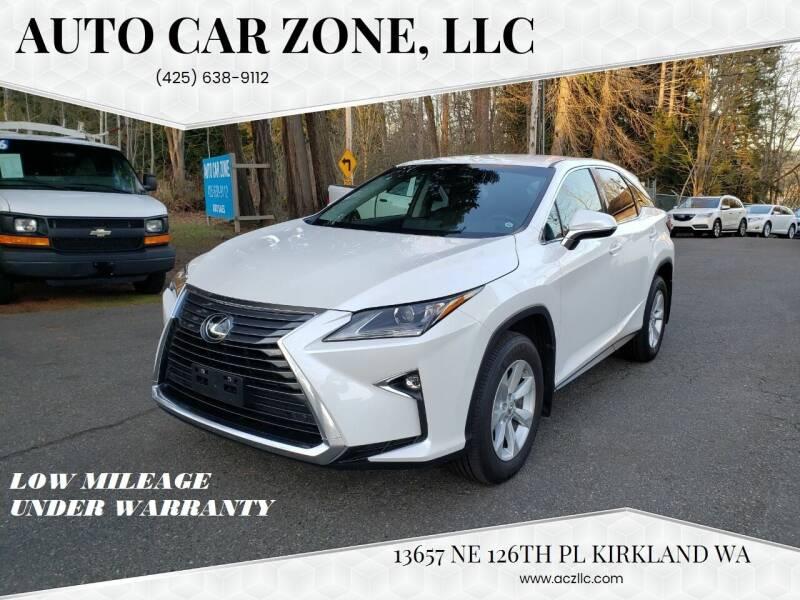 2017 Lexus RX 350 for sale at Auto Car Zone, LLC in Kirkland WA