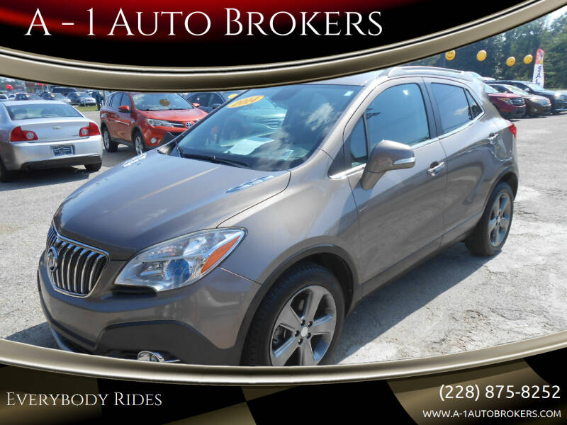 2014 Buick Encore for sale at A - 1 Auto Brokers in Ocean Springs MS