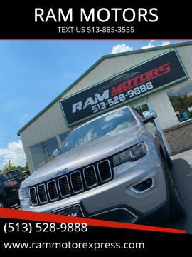 2018 Jeep Grand Cherokee for sale at RAM MOTORS in Cincinnati OH
