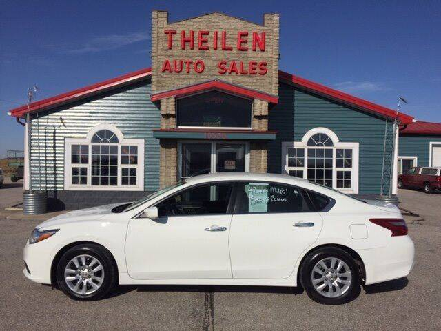 2018 Nissan Altima for sale at THEILEN AUTO SALES in Clear Lake IA