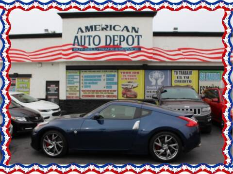 2015 Nissan 370Z for sale at American Auto Depot in Modesto CA