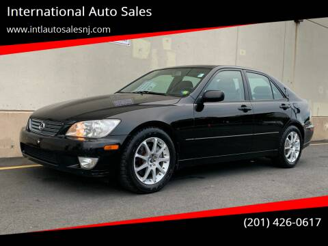 2001 Lexus IS 300 for sale at International Auto Sales in Hasbrouck Heights NJ