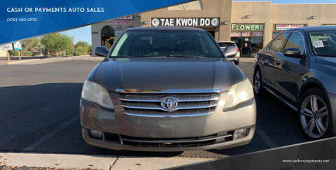 2006 Toyota Avalon for sale at CASH OR PAYMENTS AUTO SALES in Las Vegas NV