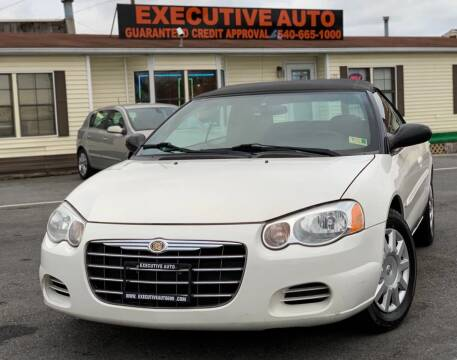 2005 Chrysler Sebring for sale at Executive Auto in Winchester VA