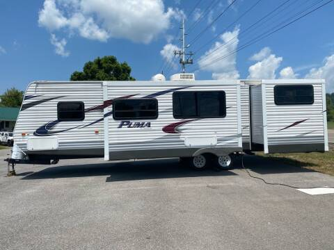 2013 Forest River Puma by Palomino 31DBTS for sale at MCCROSKEY AUTO & RV in Bluff City TN
