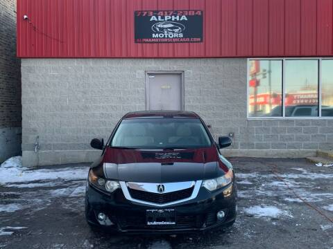 2009 Acura TSX for sale at Alpha Motors in Chicago IL
