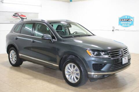2016 Volkswagen Touareg for sale at Epic Motor Company in Chantilly VA