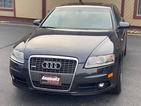 2008 Audi A6 for sale at Anamaks Motors LLC in Hudson NH