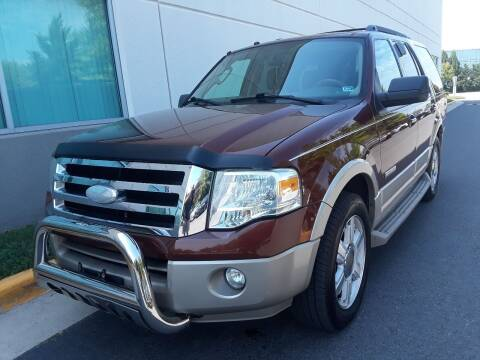 2007 Ford Expedition for sale at M & M Auto Brokers in Chantilly VA