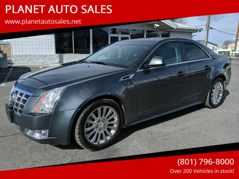 2012 Cadillac CTS for sale at PLANET AUTO SALES in Lindon UT