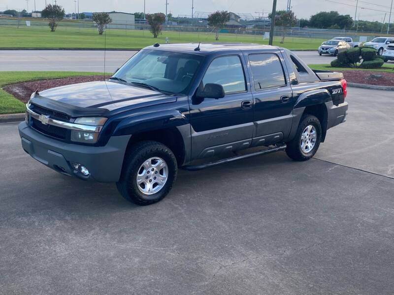 2004 Chevrolet Avalanche for sale at M A Affordable Motors in Baytown TX