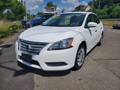 2015 Nissan Sentra for sale at WEB NIK Motors in Fitchburg MA