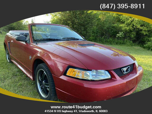 1999 Ford Mustang for sale at Route 41 Budget Auto in Wadsworth IL