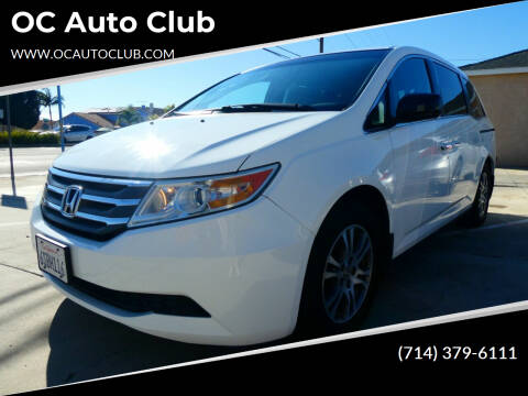 2011 Honda Odyssey for sale at OC Auto Club in Midway City CA